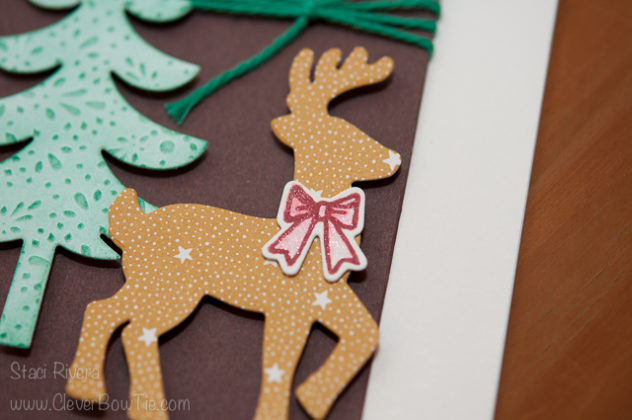 Sneak Peek. Santa's Sleigh stamp set and thinlits. Staci Rivera, Stampin' UP! SU