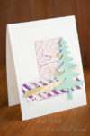 Fun Christmas Card with Santa's Sleigh and Here's to Cheers. #GDP057 StampinUp!