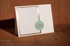 Wedding Wishes Card. Floral Phrases stamp set. StampinUp SU Staci Rivera