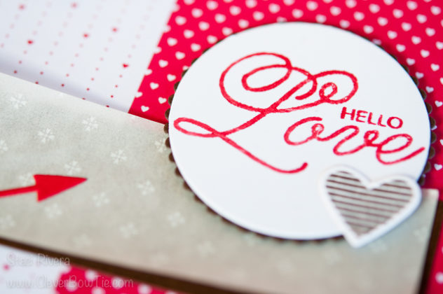 Valentine's Card created with Sealed with Love stamp set and suite from Stampin' Up! Staci Rivera SU