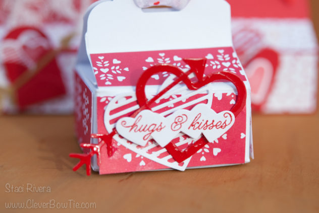 Love Treat Boxes created with Sealed with Love stamp set and suite from Stampin' Up! Staci Rivera SU